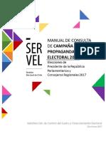 Manual de Propaganda Electoral 21-08-2017