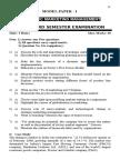 Model Question paper for JNTU-K