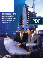 Impact of IFRS 15 on Construction Industry