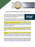 Fact Sheet_Rare Earth Elements_Strategic Minerals
