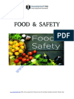 Importance of Food Safety Management to avoid spread of infection