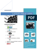 PRICELIST Jindal Pipes