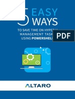 eBook - Save Time on Hyper-V Using PowerShell