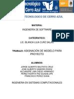 Proyecto de Óptica Visión Desarrollo de Sistemas Por El Modelo de PROTOTIPADO en La Ingeniería de Software