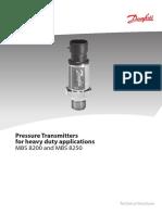 DANFOS Pressure Transmitters