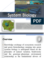 Green System Biology