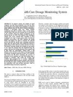 RFID Based Health Care Dosage Monitoring System