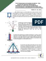 Taller N°6 2013-1 Sistemas estaticamente indeterminados y efectos térmicos