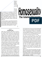Homosexuality - The Islamic Viewpoint