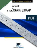 Structural TieDown Strap