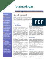 Anemia Neonatal 2