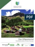 Einzelbroschuere Villgratental 2016 Einzelseiten