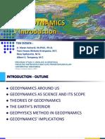 (I) Geodynamics Introduction