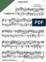 IMSLP311130 PMLP21377 Bass Gluck Menuett