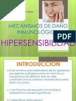 Clase IV - Hipersensibilidad