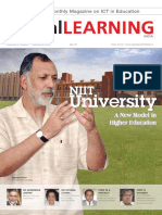 NIIT University in Asia's First Monthly Magazine on ICT in Education
