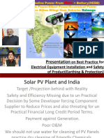 Solar PV Plant and India