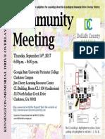 memorial drive meeting flyer sept 14 2017