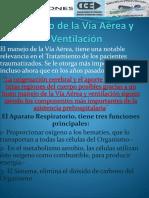 Manejo de La Vía Aérea y Ventilación APARATO CIRCULATORIO