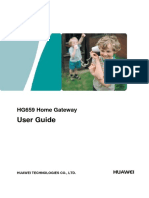User Manual Huawei Modem Hg659