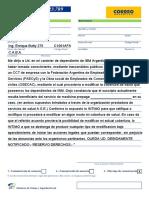 Unión Informática, Telegrama Laboral - IBM Argentina