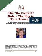 Helen Harris No Contact Rule e Book