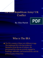 Ira Uk Conflict