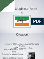 IRA Terrorism
