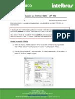 Procedimento de Atualização Cip850 via Web