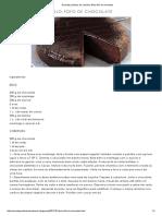Receitas Práticas de Culinária_ Bolo Fofo de Chocolate