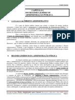 Regime Jurídico - Princípios Administrativos