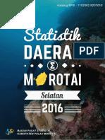 Statistik Daerah Kecamatan Morotai Selatan 2016