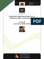 Luciana Distante 2 Fascicolo vocalizzi