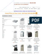 Office Photocopiers and Printers in Toronto