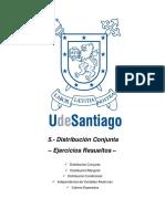 5. Probabilidad Conjunta - Ejercicios Resueltos y Propuestos