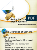 Module5_Setting Up Your Import Export Business