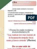 Banca Centrala Si Creatia Monetara