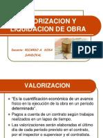 Valorizaciones y Liquidacion de Obra (2)