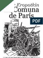 Kropotkin La Comuna de Paris (es)