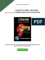 Ecuador Made in China Spanish Edition by Fernando Villavicencio