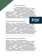 Contração das preposições com os artigos definidos