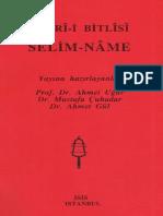 Şükri-i Bitlisi - Selim-name - IsIS