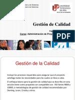 Clase API09 Gestion de Calidad 2015
