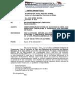 Informe Nº 15 Propuesta Total Adicionales