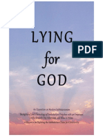 Lying for God