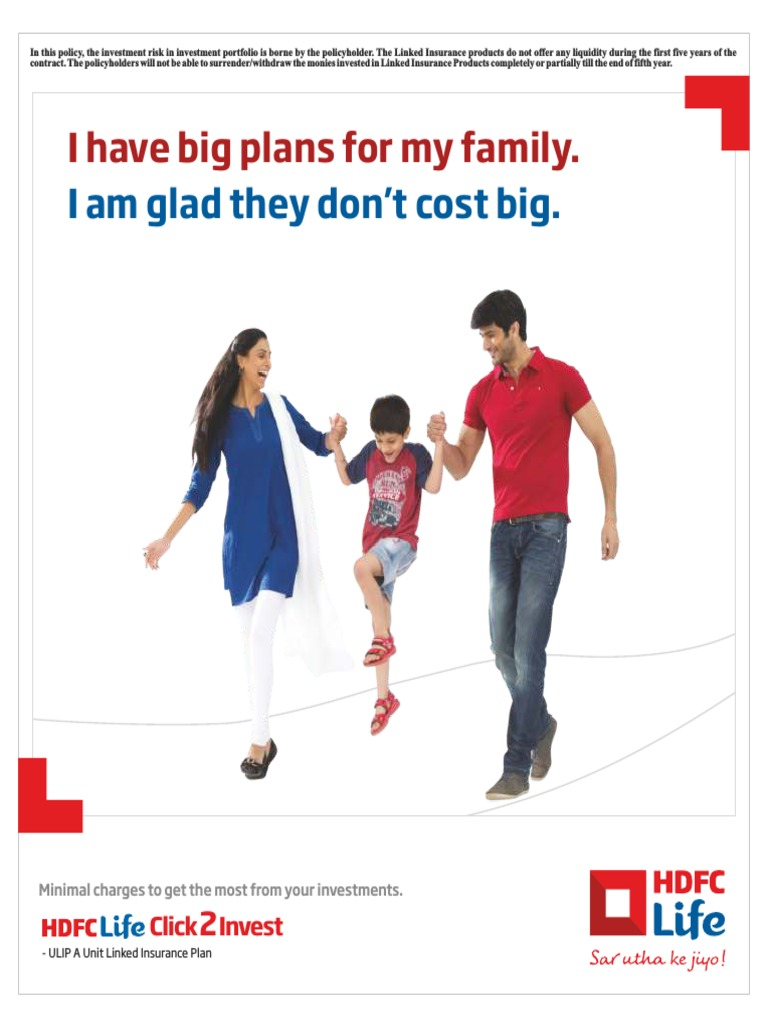 literature review of ulip of hdfc standard life insurance company