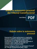 Autonomía Procesal Del TC