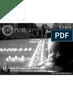 Afis-Crucea de Lumanari