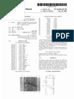 Prosthetic vascular graft (US patent 6436135)