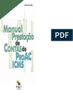 Manual ProAC Prestação de Contas